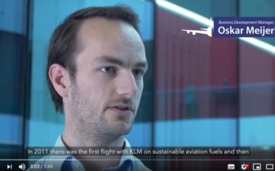 How Sustainable Aviation Fuel (SAF) is making its way in the aviation sector: an interview to Oskar Meijerink, Business Development Manager, SkyNRG